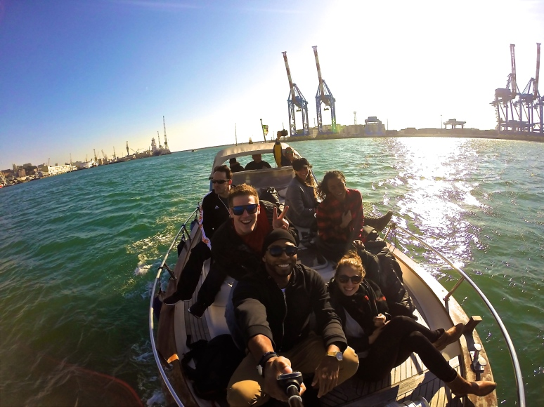 Boat Selfies!
